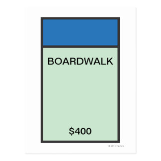 Monopoly | Blue Space Postcard