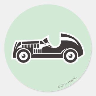 Monopoly | Car Classic Round Sticker