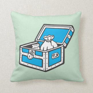 Monopoly   Community Chest Throw Pillow