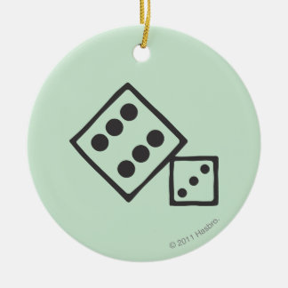 Monopoly | Dice Ceramic Ornament