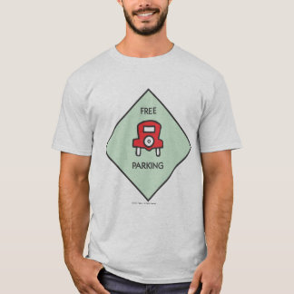 Monopoly | Free Parking Corner Square T-Shirt