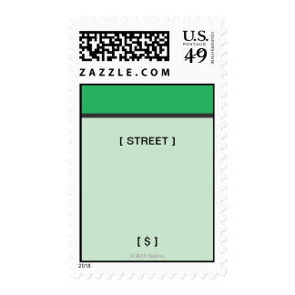 Monopoly | Green Space Postage