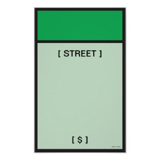 Monopoly | Green Space Poster