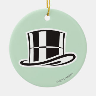 Monopoly | Hat Ceramic Ornament