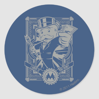 Monopoly | I Have It, You Don't Classic Round Sticker