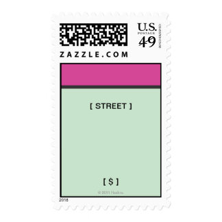Monopoly | Magenta Space Postage