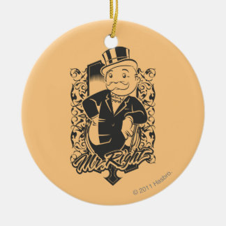 Monopoly | Mr. Right Ceramic Ornament