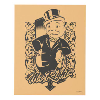 Monopoly | Mr. Right Panel Wall Art