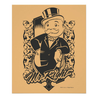 Monopoly | Mr. Right Poster