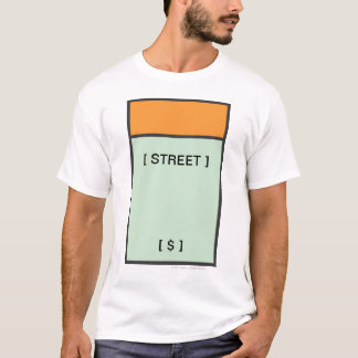 Monopoly | Orange Space T-Shirt
