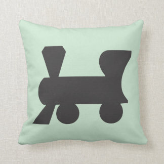 Monopoly | Reading Railroad Throw Pillow