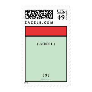 Monopoly | Red Space Postage
