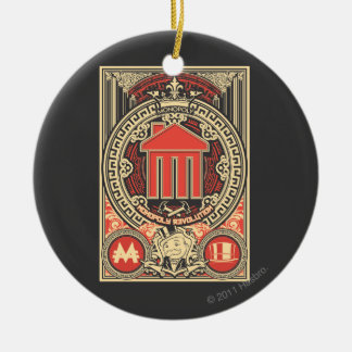 Monopoly Revolution Ceramic Ornament