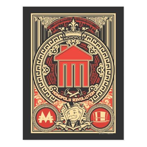Monopoly Revolution Post Card