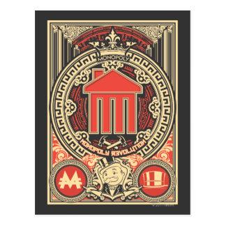 Monopoly Revolution Postcard