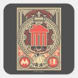 Monopoly Revolution Square Stickers
