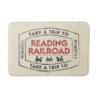 Monopoly | Take a Trip to Reading Railroad Bath Mat