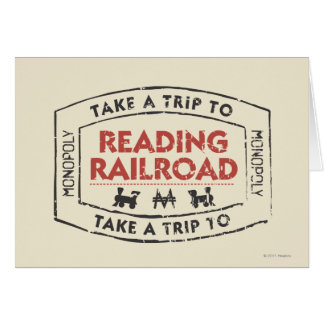 Monopoly | Take a Trip to Reading Railroad Card