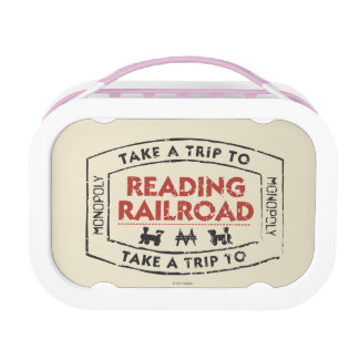 Monopoly | Take a Trip to Reading Railroad Lunch Box