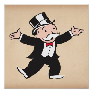 Monopoly | Uncle Pennybags Poster