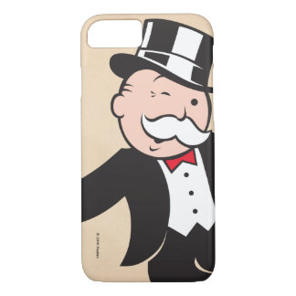 Monopoly | Uncle Pennybags Winking iPhone 8/7 Case