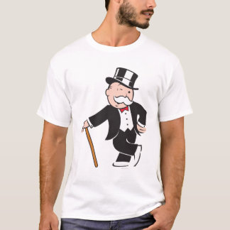 Monopoly | Uncle Pennybags Winking T-Shirt