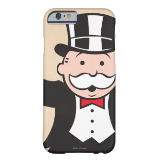 Monopoly | Uncle Pennybags With Cane Barely There iPhone 6 Case