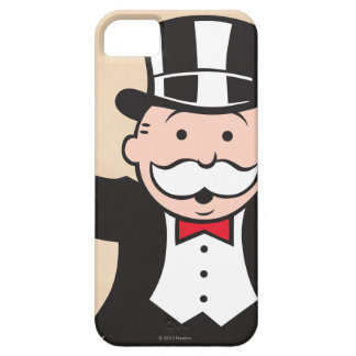Monopoly | Uncle Pennybags With Cane iPhone SE/5/5s Case