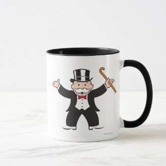Monopoly | Uncle Pennybags With Cane Mug