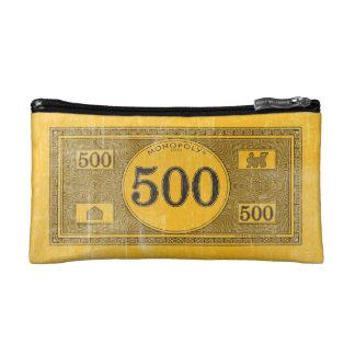 Monopoly | Vintage 500 Dollar Bill Makeup Bag