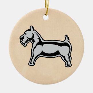 Monopoly | Vintage Dog Ceramic Ornament