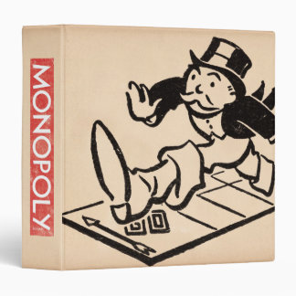 Monopoly | Vintage Rich Uncle Pennybags Binder