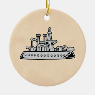 Monopoly | Vintage Ship Ceramic Ornament