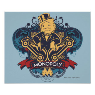 Monopoly Yellow Poster