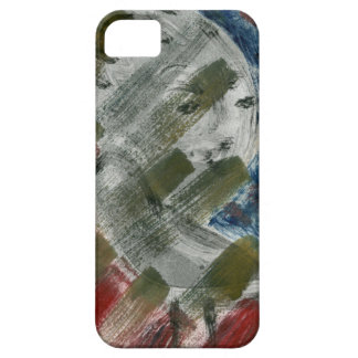 Monoprint Woman and Crow (Raven) iPhone SE/5/5s Case