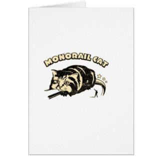 monorail cat card