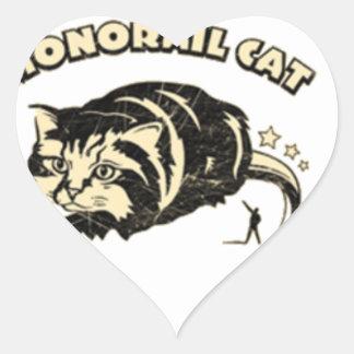 monorail cat heart sticker