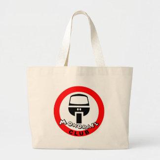 monorail club canvas bag
