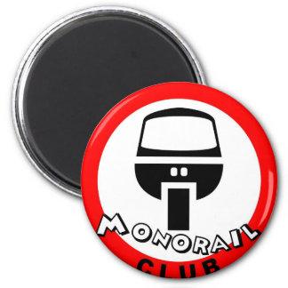 monorail club 2 inch round magnet