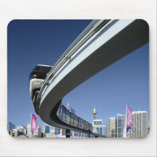 Monorail in Darling Harbor, Sydney, Australia Mouse Pad