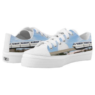Monorail Shoes Printed Shoes