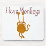 Monos Alfombrilla De Ratón