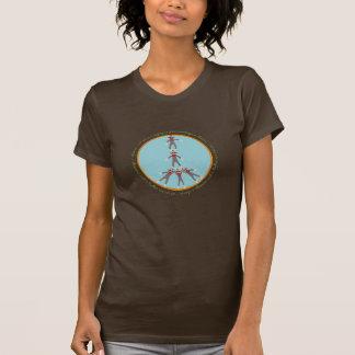 Monos de la paz camiseta
