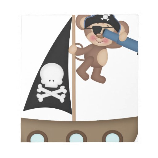 Monos de los piratas de Caribean Blocs