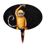 Monos Decoración Para Tarta