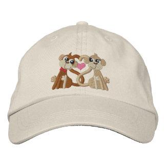 Monos del amor gorra de beisbol bordada