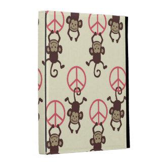 Monos del signo de la paz