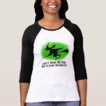 Monos del vuelo camisetas