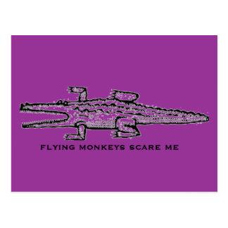 monos del vuelo postales