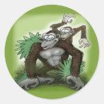 Monos Pegatinas